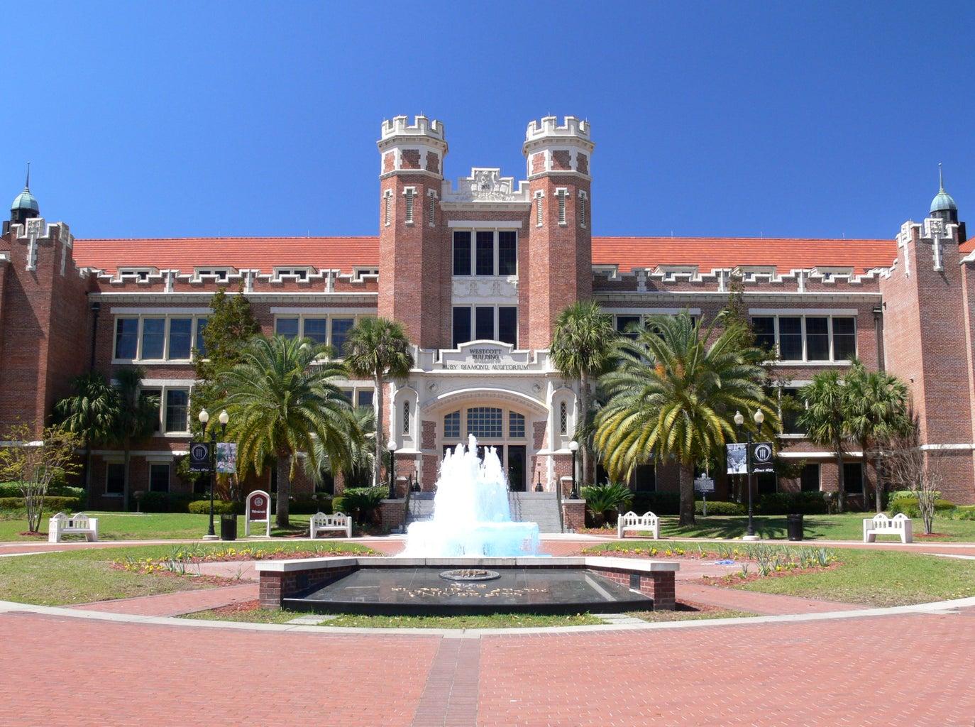 Florida State University\'s Westcott building