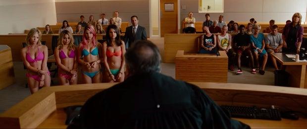 Spring Breakers movie court scene Selena Gomez