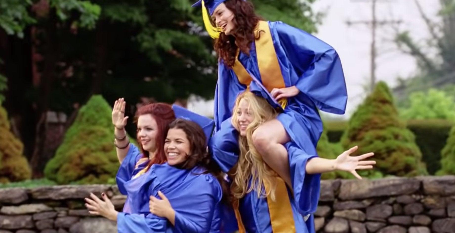 The Sisterhood of the Traveling Pants graduation scene