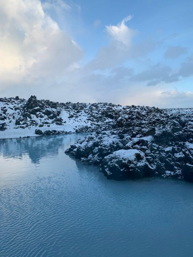 Calm Blue Lagoon