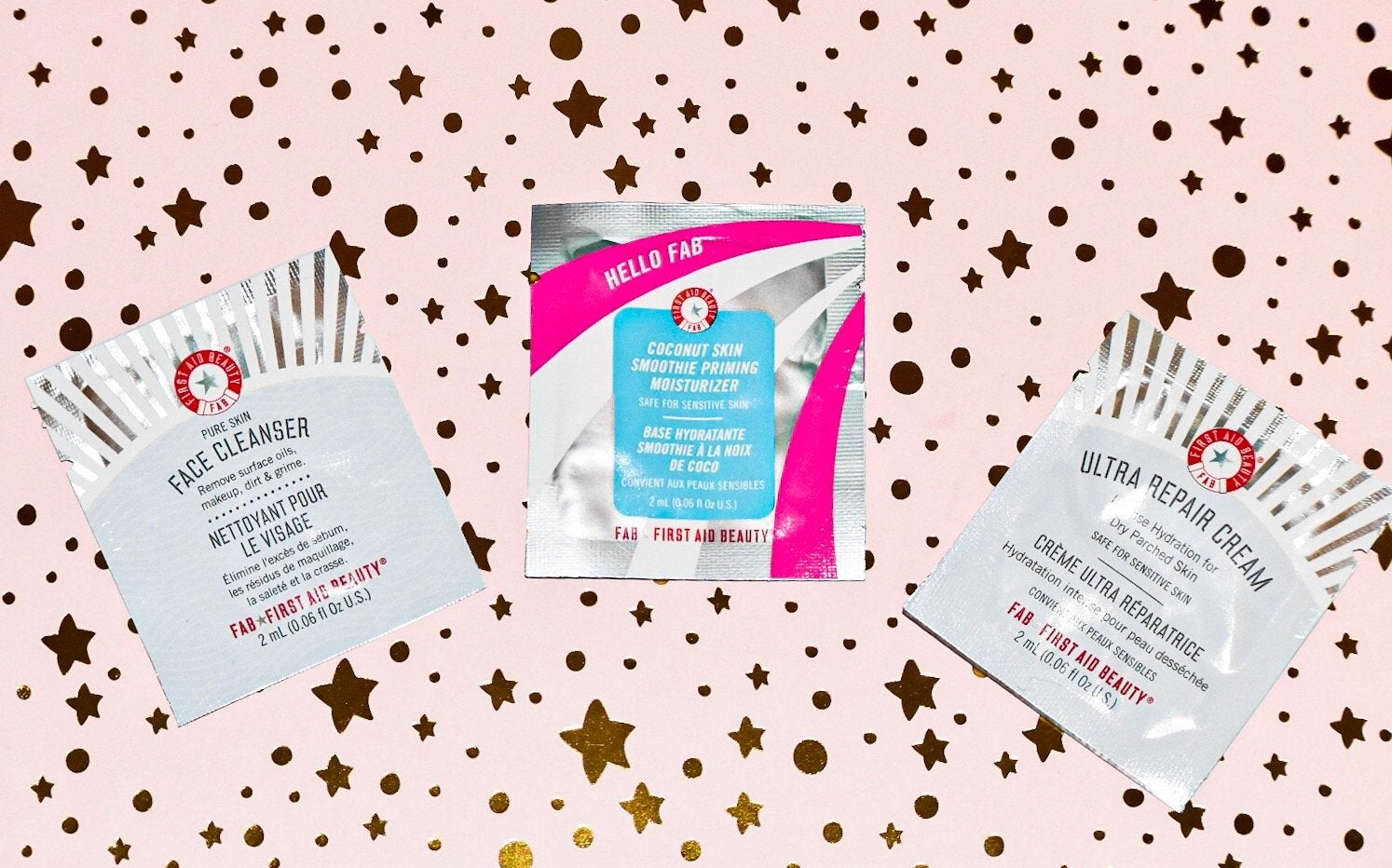 First Aid Beauty Survival Kit Product Samples