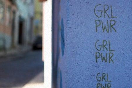 Grl pwr wall