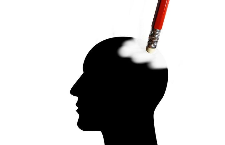 brain/mind/memory being erased