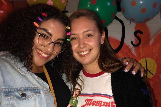 Mary Hull and Martina Litty (profile for Campus Couples)