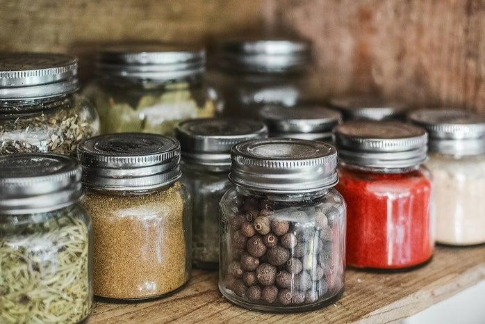 Spice jars