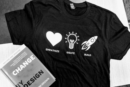 hub shirt with book