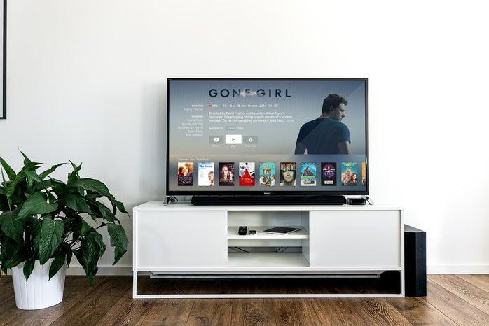 flat screen TV photo