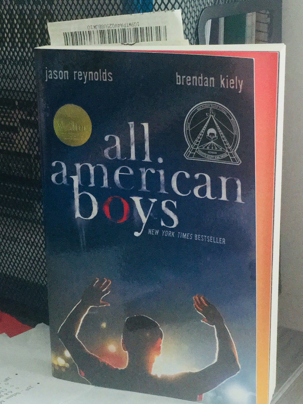 """Young adult book titled """"All American Boys"""""""
