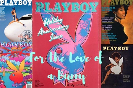 playboy cover collage