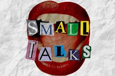 cover of Small Talks Magazine - logo