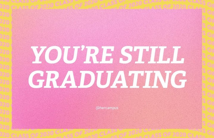 You\'re still Graduating Her Campus event