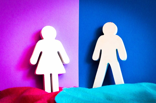 boy and girl cutouts