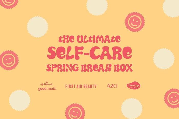 the ultimate self-care spring break box