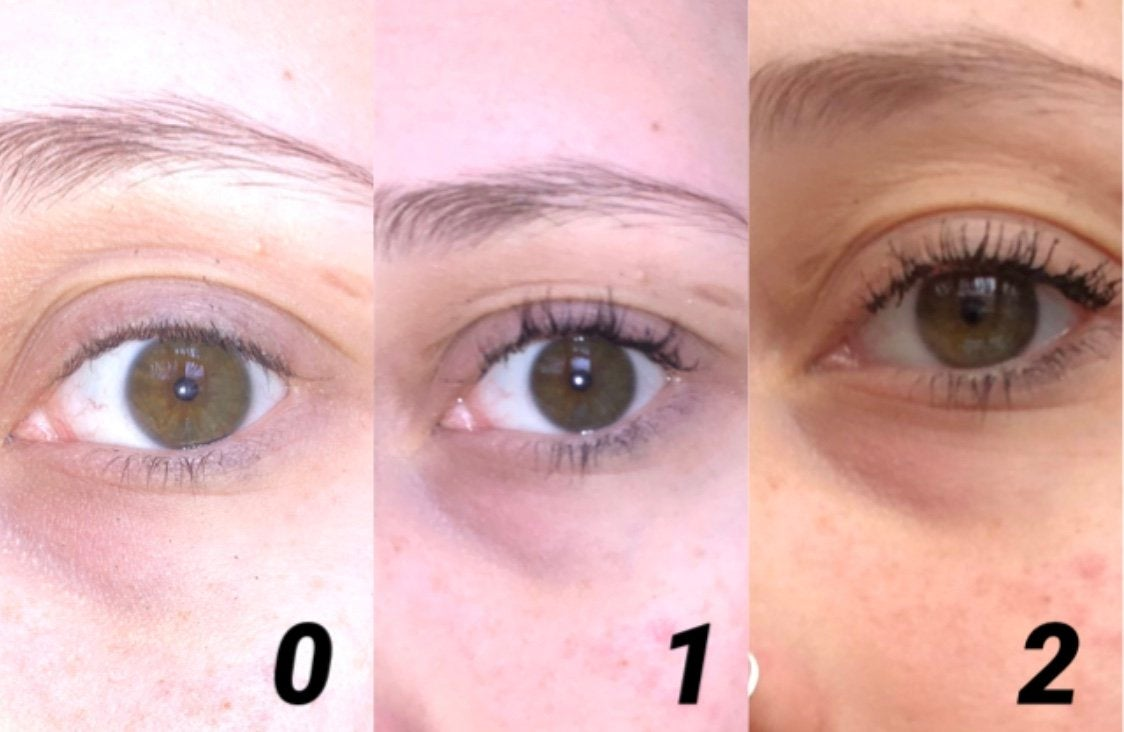 Big Tease Mascara Coats Picture Collage