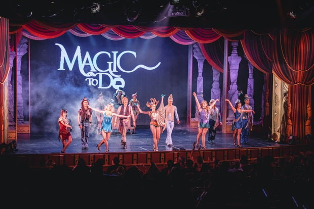 Musical theatre production of Pippin