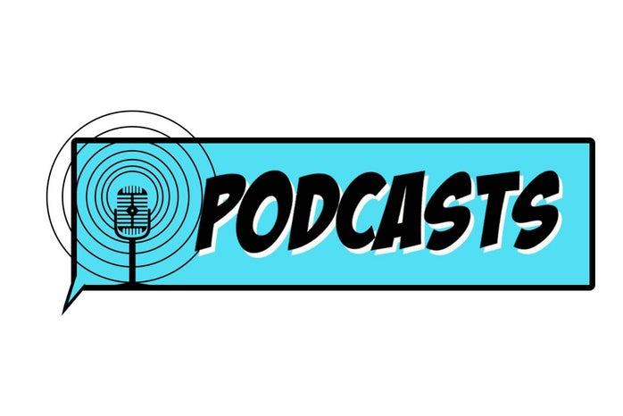 podcast microphone logo