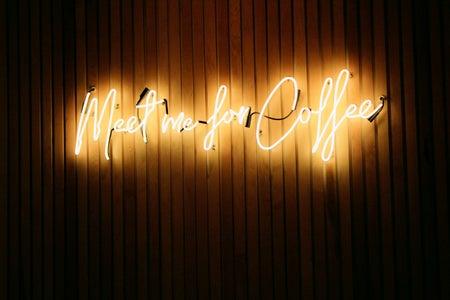 meet for coffee