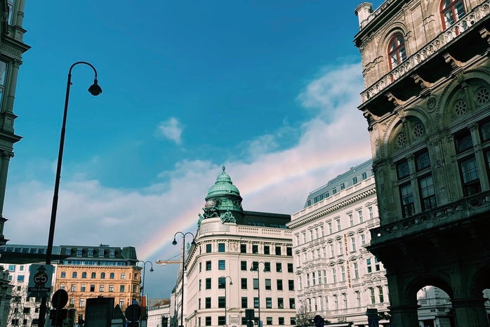 This photo is taken by a HC St. Law U member (Lauren Donohue) when she was studying abroad last semester.