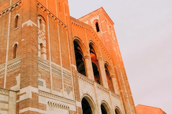 A picture of Royce Hall