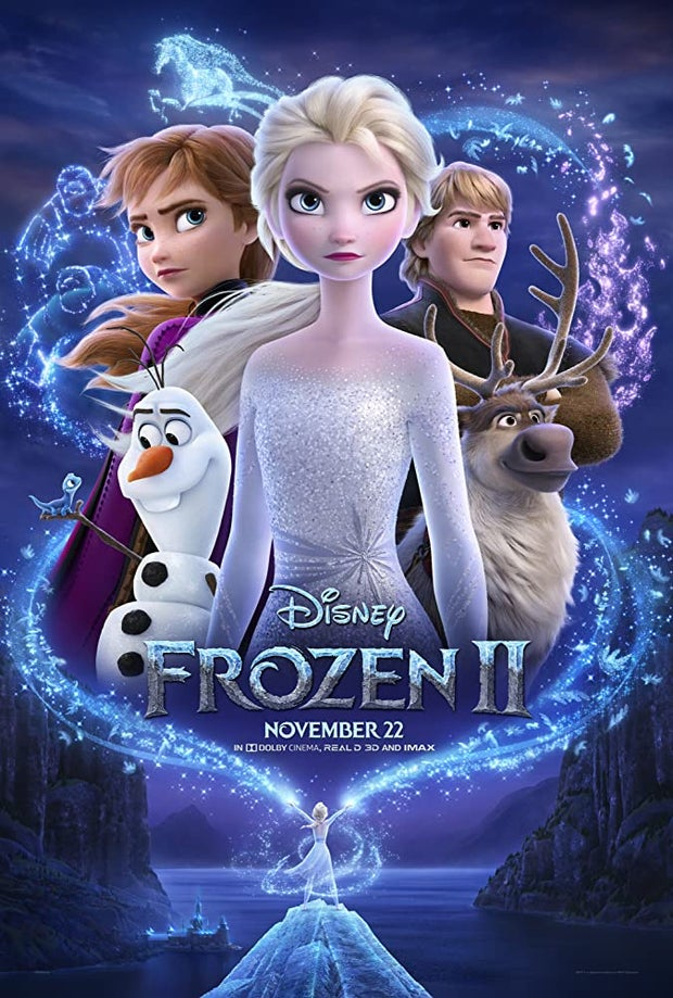 frozen two movie poster