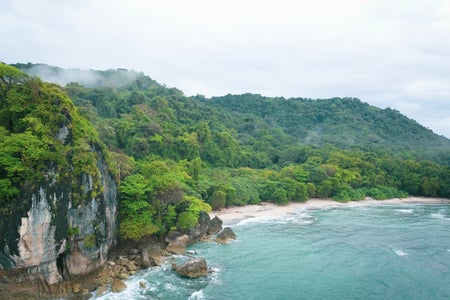 Cliffside in Costa Rica