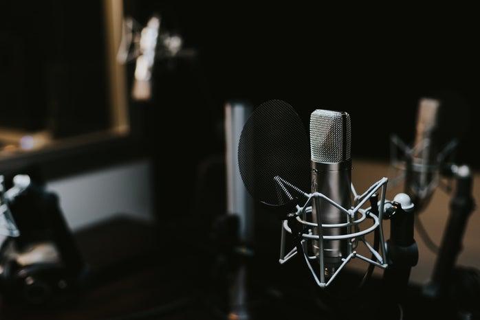recording studio setup