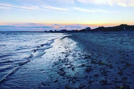 sunset beach in Cape Cod