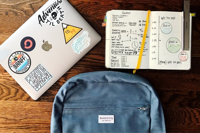 Backpack, notebook, laptop