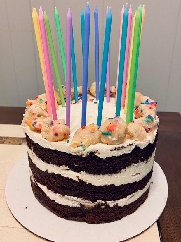 Birthday Cake for my 20th birthday