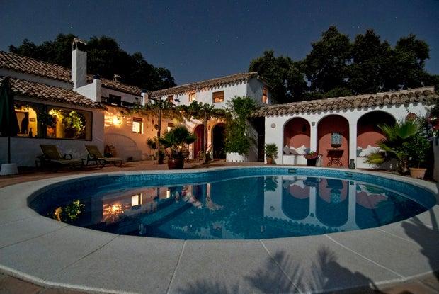 rich mansion
