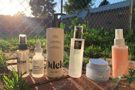 beauty products outside