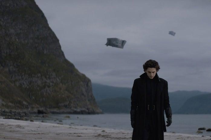 """Timothee Chalamet in \""""Dune\"""""""