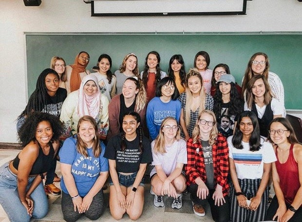 her campus at UMKC chapter photo