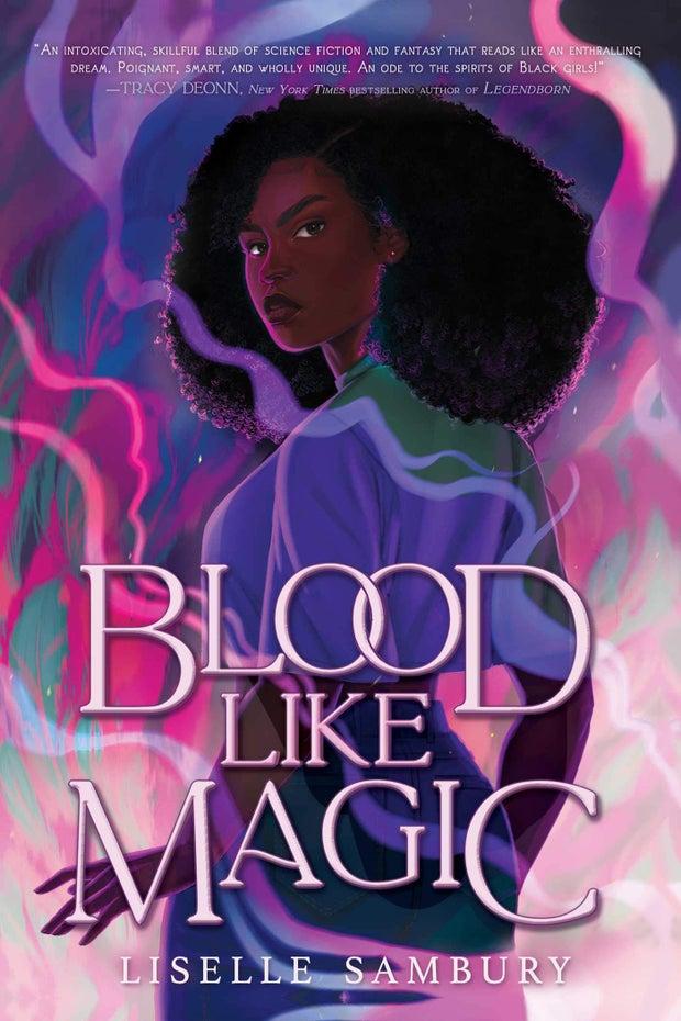 book cover of love like magic by liselle sambury