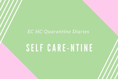 A hero image for the headers of this week's Quarantine Diary articles from our series.