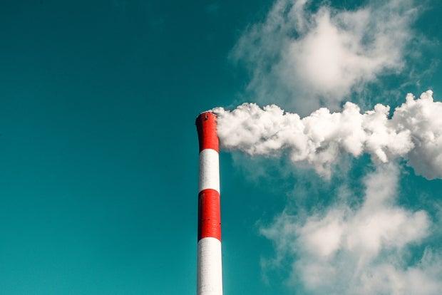 coal factory smoke