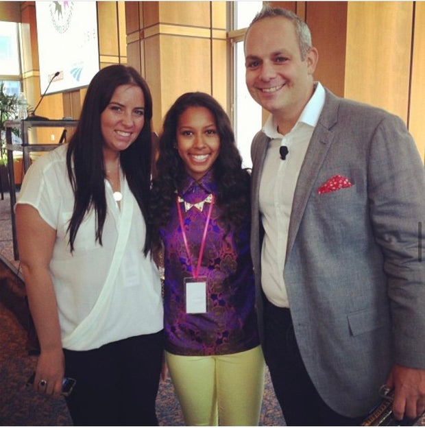 Arielle Tillett at Her Conference