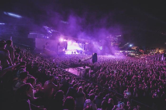 purple stage