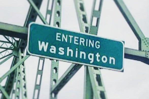 Entering Washington