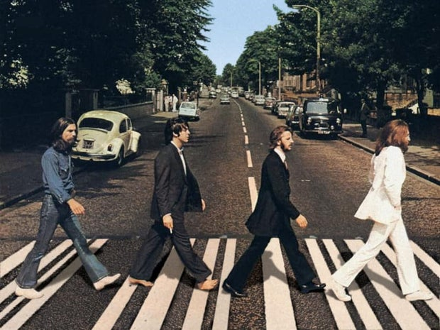 The Beatles Here Comes the Sun Album Cover