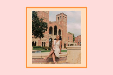 edit I made of UCLA's newly elected student body president, Naomi