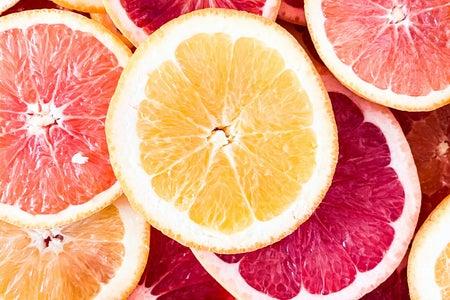 fruit and grapefruit