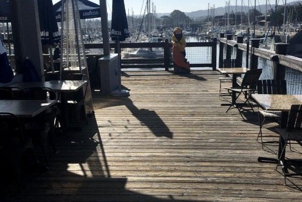 A boardwalk restaurant in Monterey California