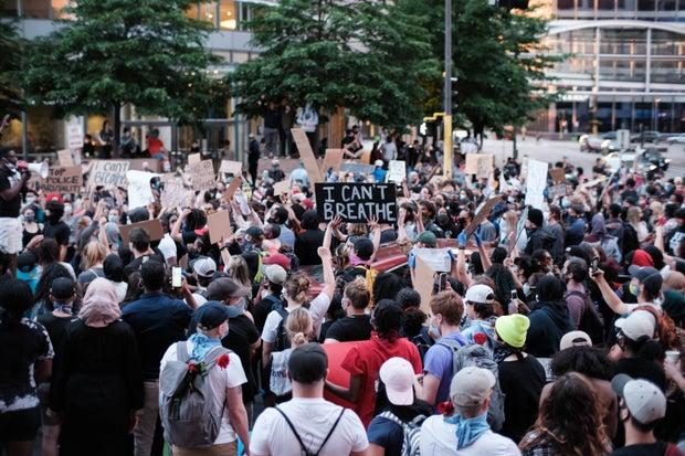 Minneapolis Black Lives Matter protest
