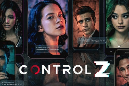 """The banner of the new Netflix series, """"Control Z"""""""