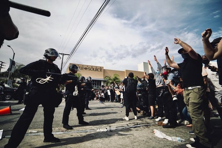 Los Angeles Black Lives Matter protest
