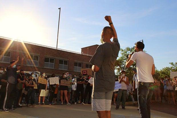 Black lives matters protest