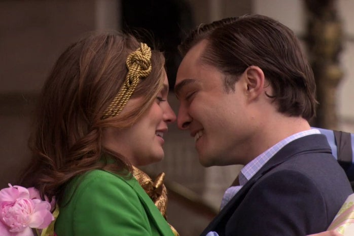 Chuck and Blair in Gossip Girl