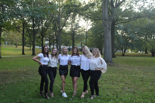 HC Kent State's photoshoot in fall 2019