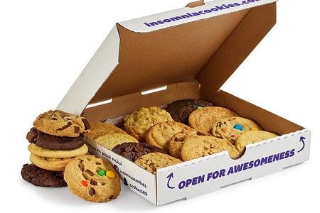 Insomnia Cookies dessert box